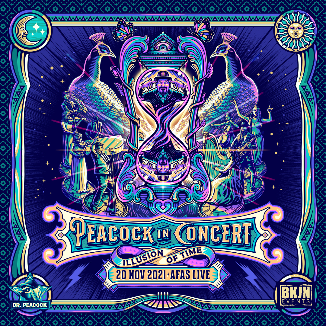 Peacock in Concert 2021 - Illusion of Time